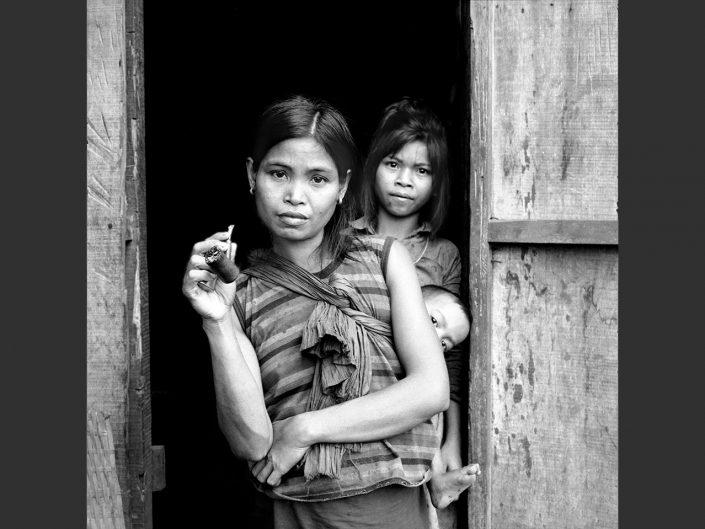 Vietnam/Cambodge 6x6 n&b